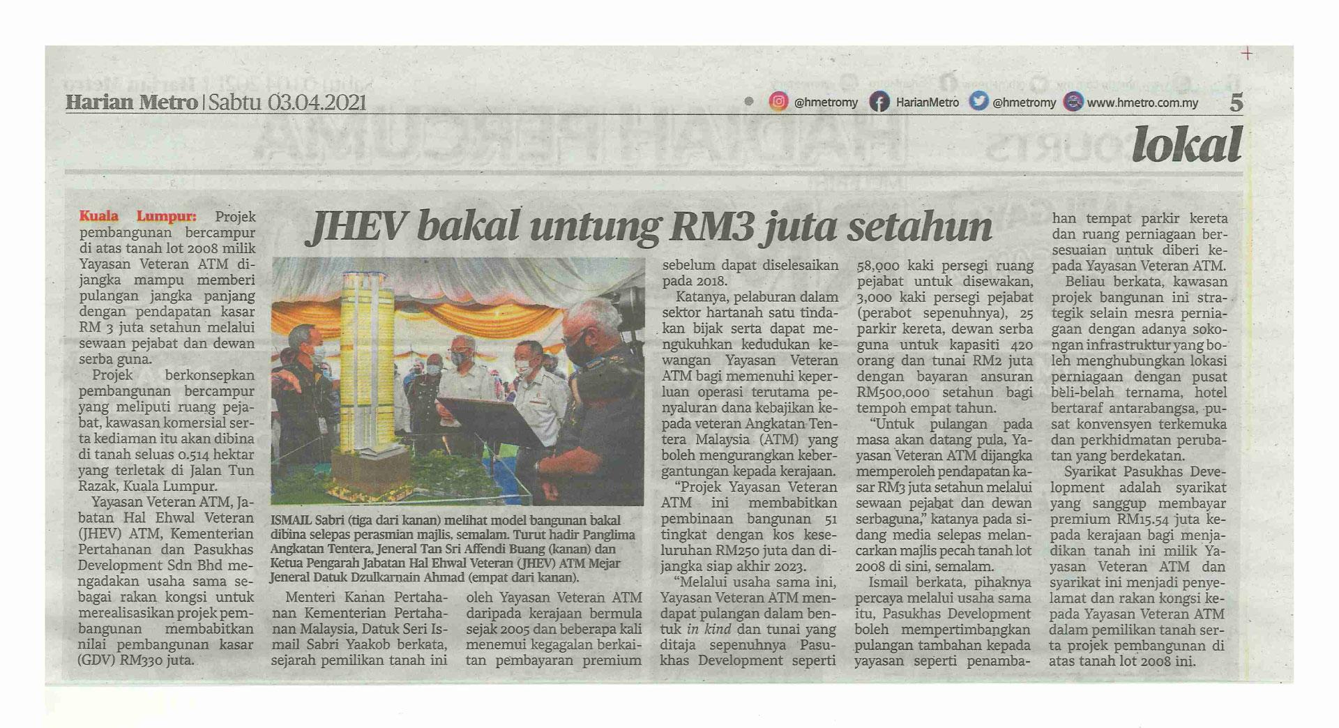 Newspaper---Harian-Metro